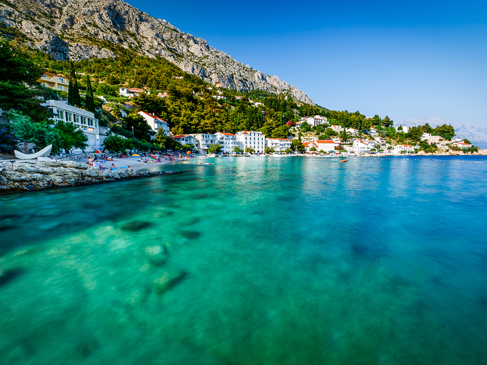 If you're a fan of ocean views, then Split is the holiday for you